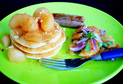 Aroma all american breakfast with a sweet twist and food for Aroma mediterranean american cuisine
