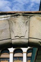 Llinda a Can Farell de la Vall (Santa Eulàlia de Ronçana) Pau Farell 1741. Clica foto per saber Ha.