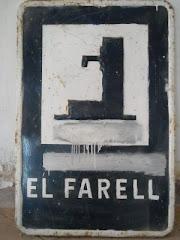 Rètol Font del Farell (al Montmajor)