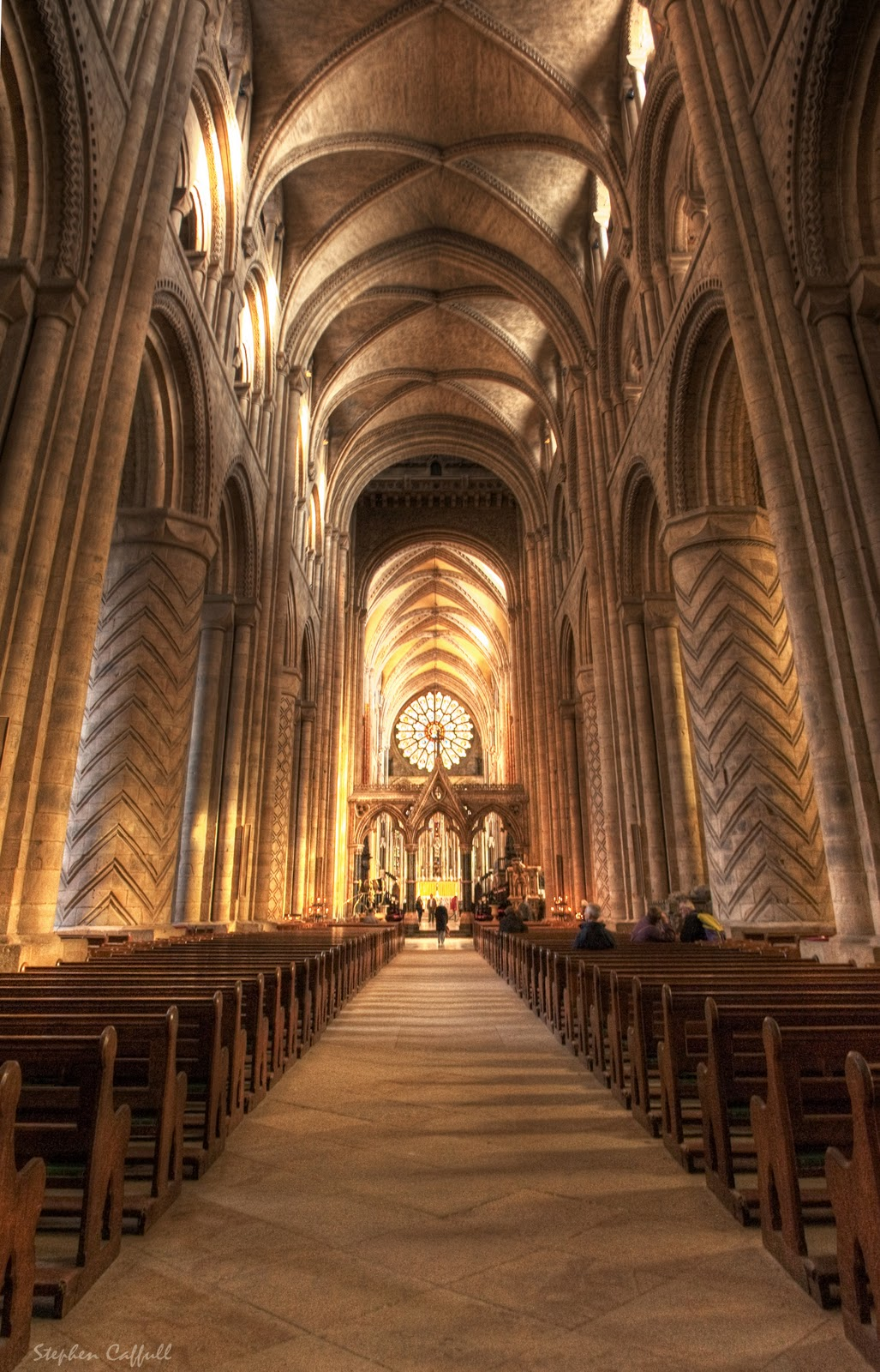 a m me da miedo la catedral de durham