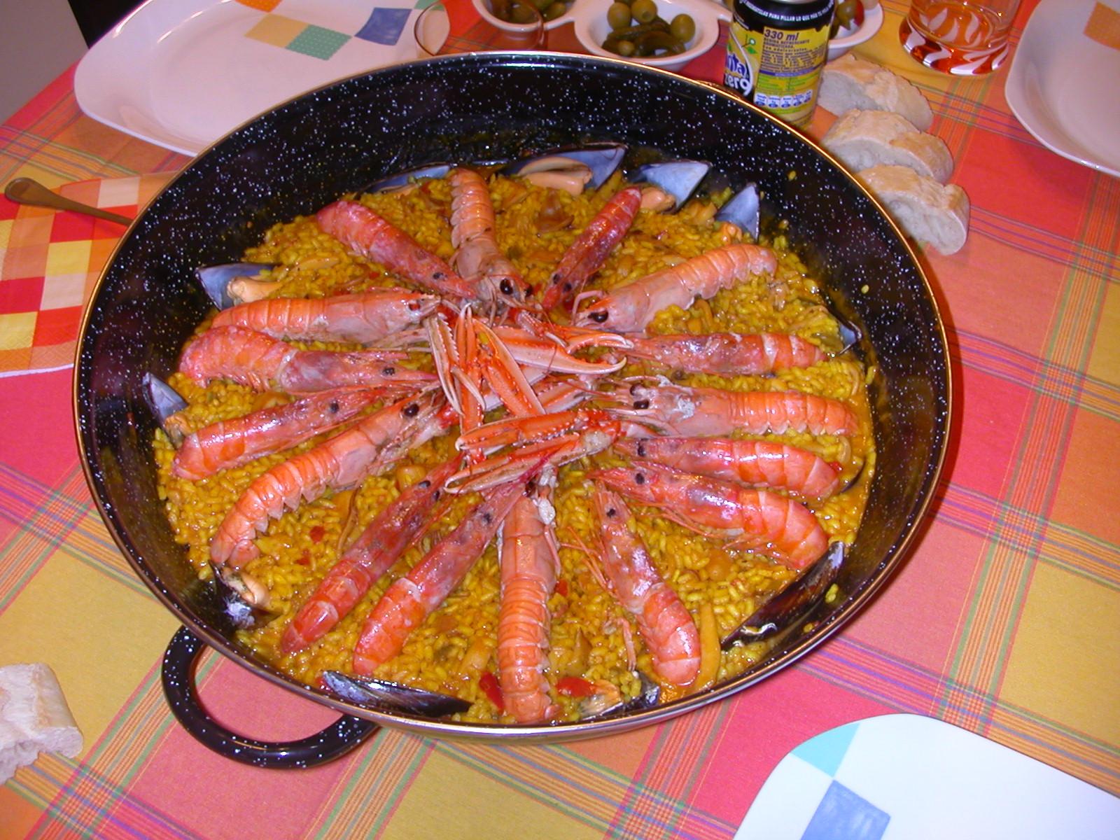 Cocina r pida y f cil paella de marisco - Cocina rapida y facil ...