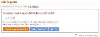 Cara Menghapus Navbar Blog Anda