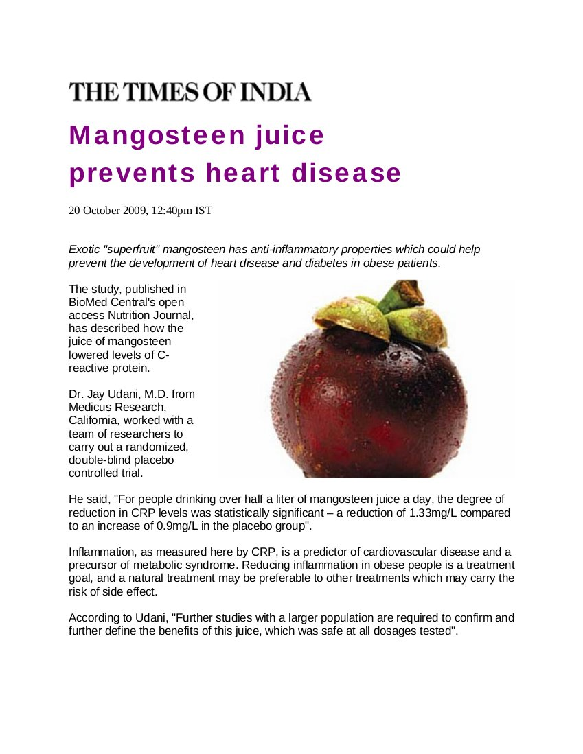 Best Health Advantages and Stuff: Mangosteen article Hot ...