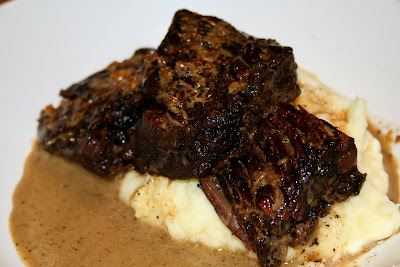 Balsamic Glazed Shortribs