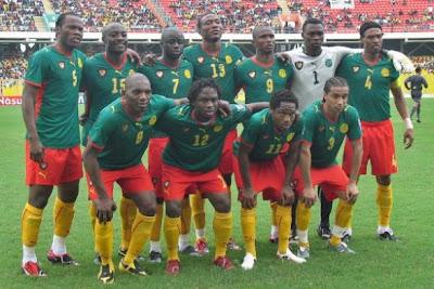 Los 32 equipos que iran al mundial Camerun