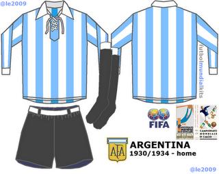 Las camisetas de la Selección Argentina