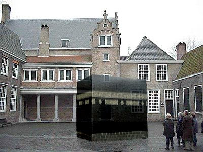 Holland unveils the 'Mecca of Calvin' or Calvinist Church Ka'bah Sculpture