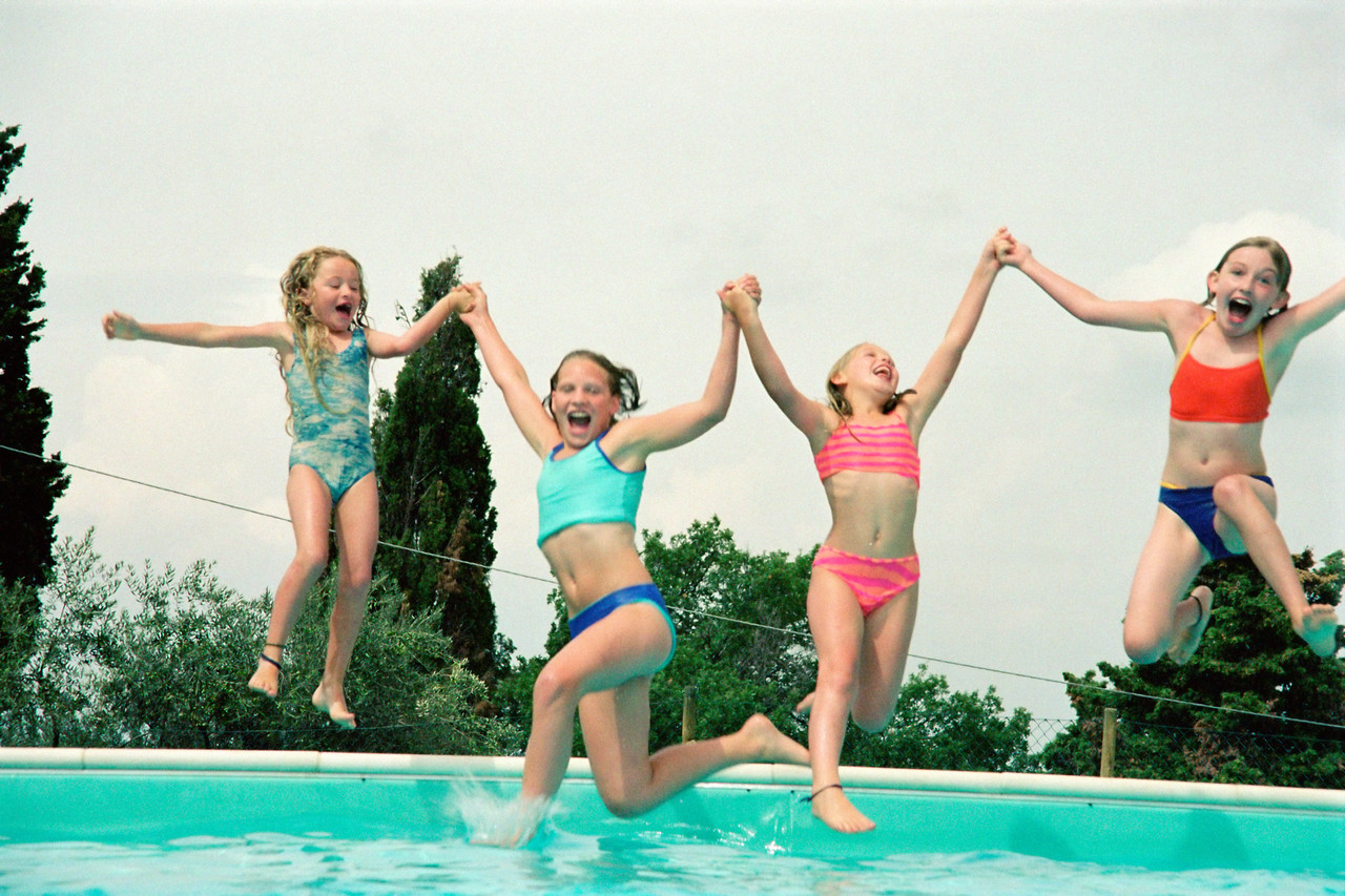 swimming%2Bchildren ... in Culver City, California last night. There was an Active for Life ...
