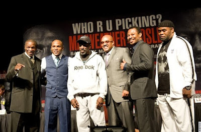 Final Press Conference Team Mayweather
