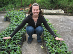 ...me with some coffee plants...
