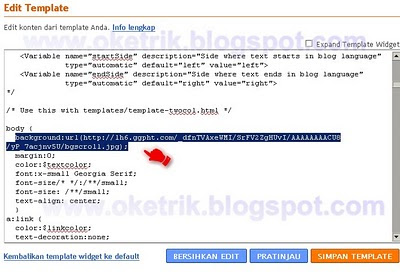 Membuat Scroll Background Dengan Jquery