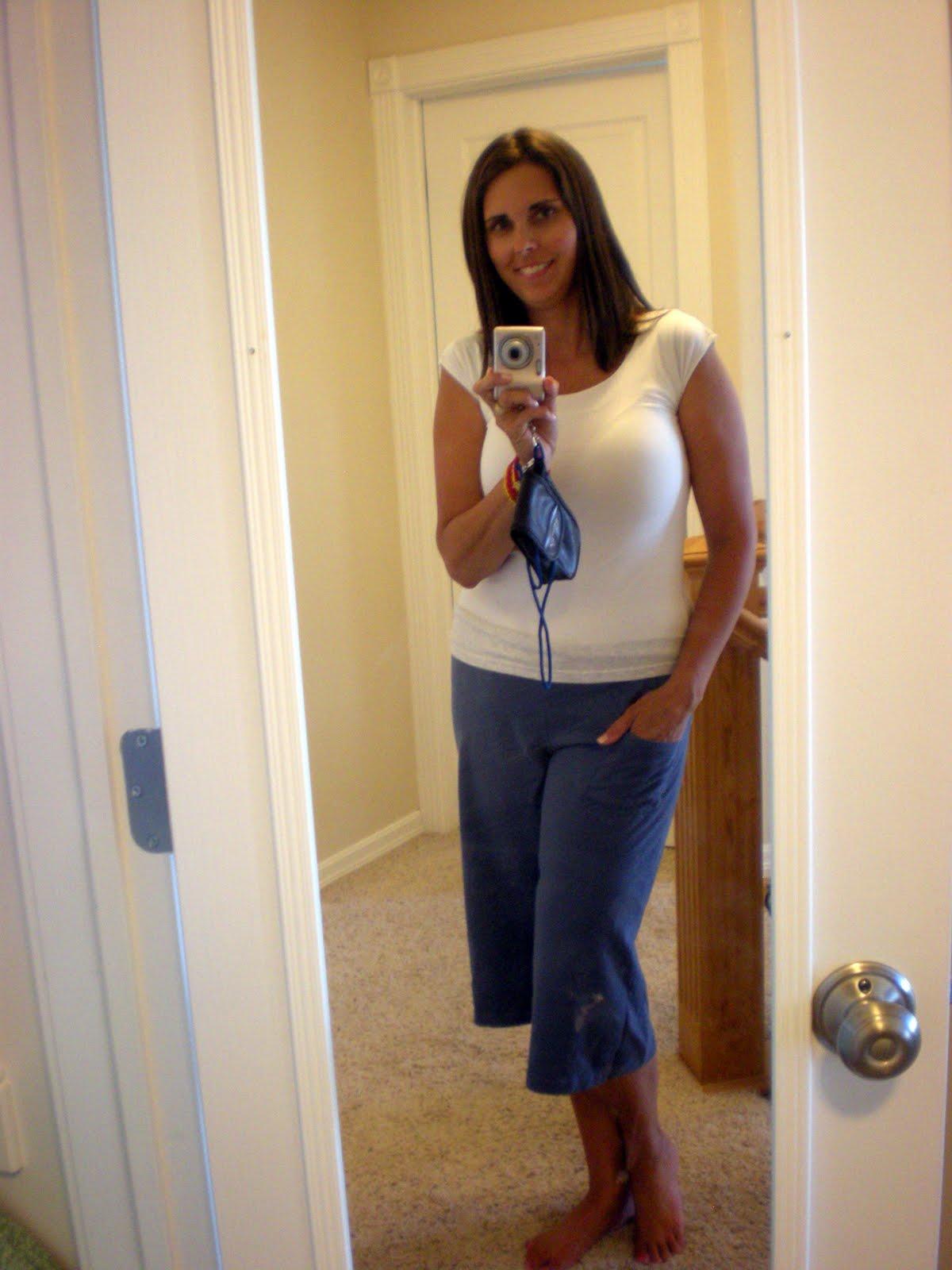 xxl t shirt into yoga pants | the thrifty ba