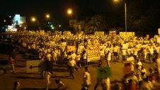 Marcha en Hermosillo / 4 julio / fotos de Benji Alonso Rascón