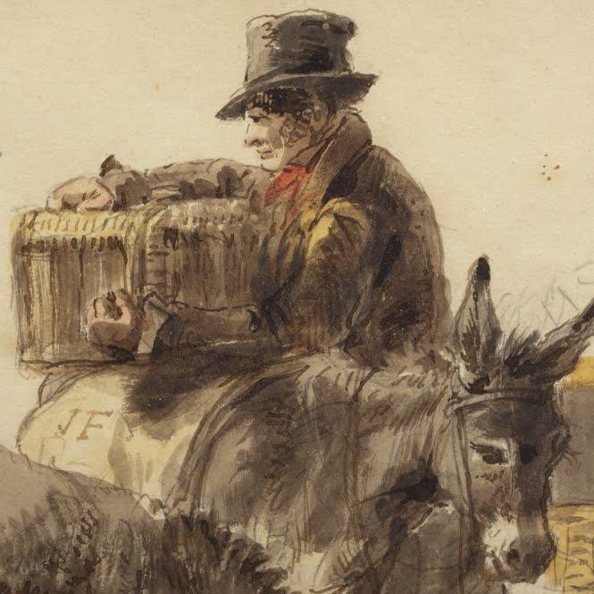 Histoire de la haute marne quelques colporteurs haut marnais for Miroir vagabond