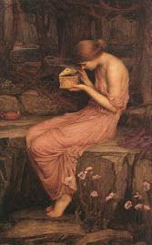 J. W. Waterhouse, 'Psyche Opening the Golden Box'