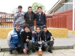 Primer Lugar Campeonato Babyfutbol 2008