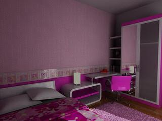 kamar untuk anak perempuan anda ini sangat menarik sekali.ya memang