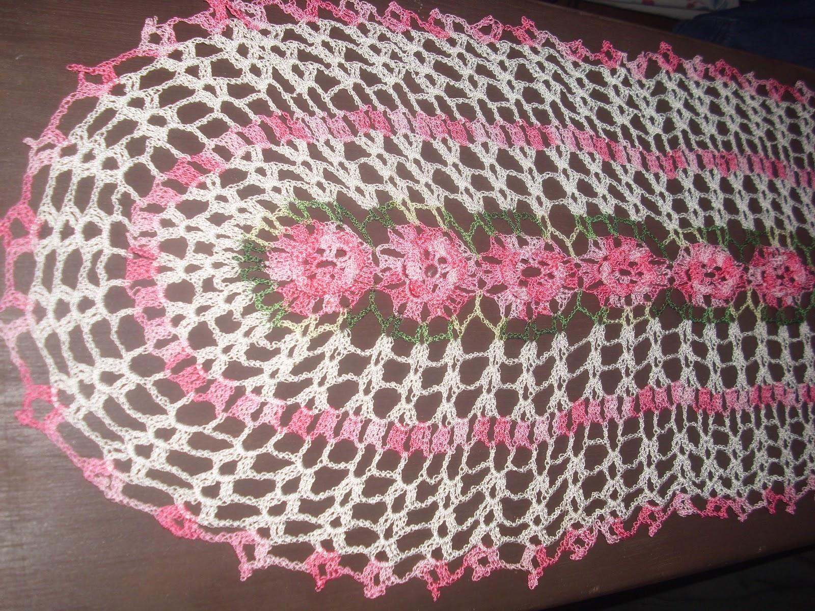 De mis manos tejidos y algo mas autos post for Camino de mesa elegante en crochet