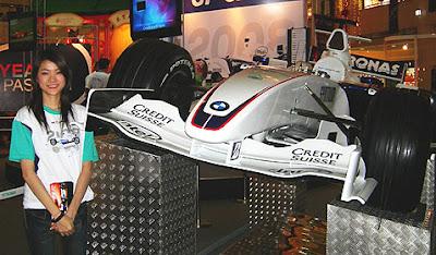F1 Roadshow 2008 Meets Fans in Melaka Malaysia