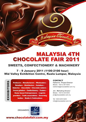 Malaysia 4th Chocolate Fair 2011