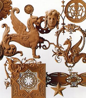 did you know you can buy every detail directly from the company that made them composition castings of centuries old originals can be found here - Decorators Supply