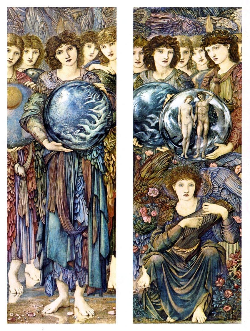 art of narrative edward burne jones and the angels of creation