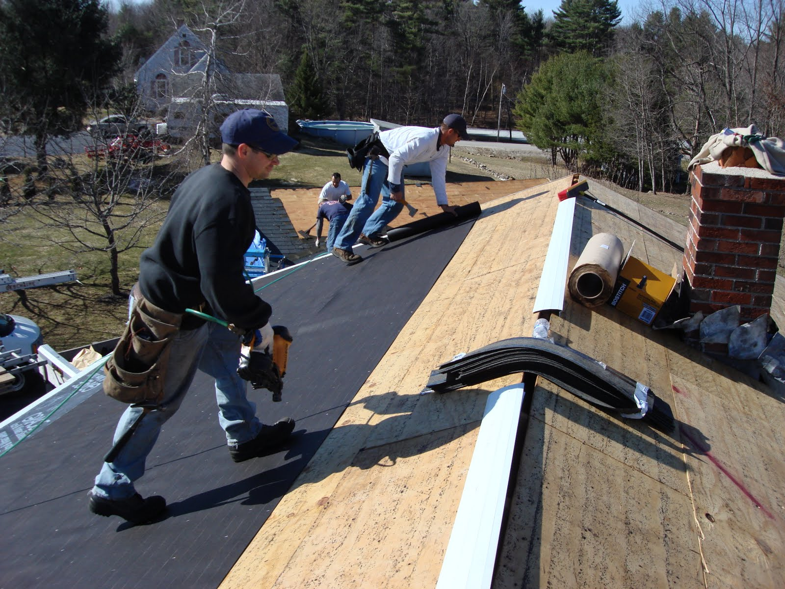 Southern maine home improvements do roofing materials for Home roofing options