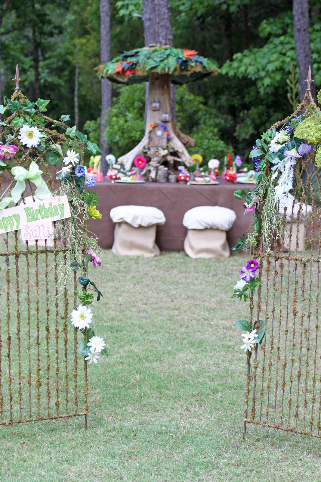 Garden Fairy Party Sneak Peak Tiaras Tantrums