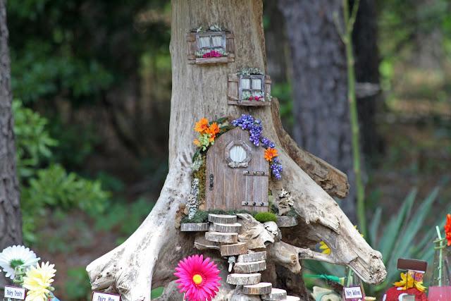 Домики для фей в саду своими руками