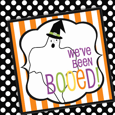Amandas Parties To Go Boo sign