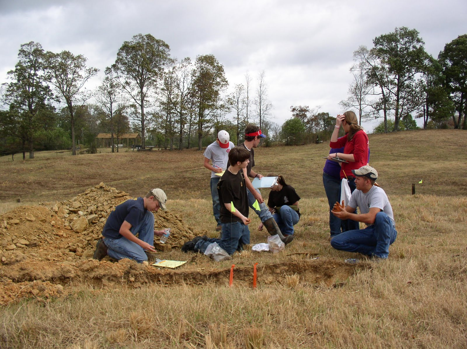 Welcome to the walker county conservation district 2010 for Soil judging