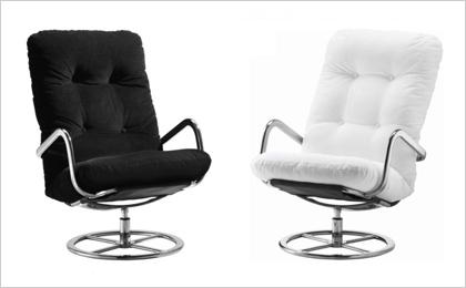Casas cosas y dem s quiero un sill n orejero for Butaca giratoria ikea