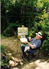 Pintant al natural