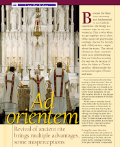 Bishop Slattery of Tulsa, OK regularly celebrates the Ordinary Form of the Liturgy, Ad Orientam