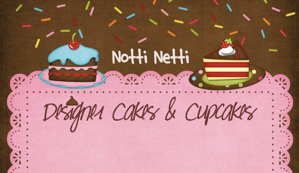 Designer Cakes & Cupcakes by Notti Netti