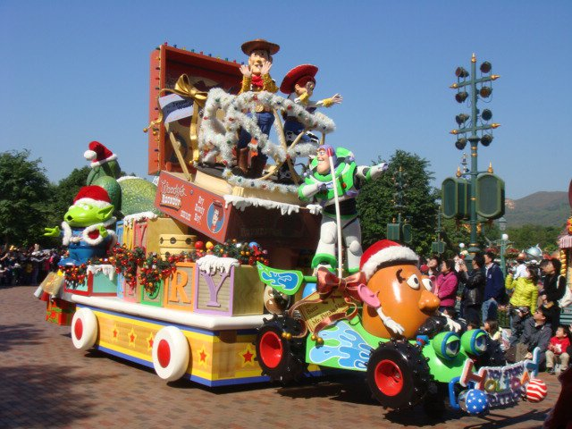 Disney parade floats related keywords disney parade for Princess float ideas