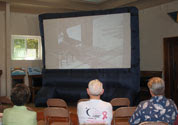 Large Screen: Video Presentations