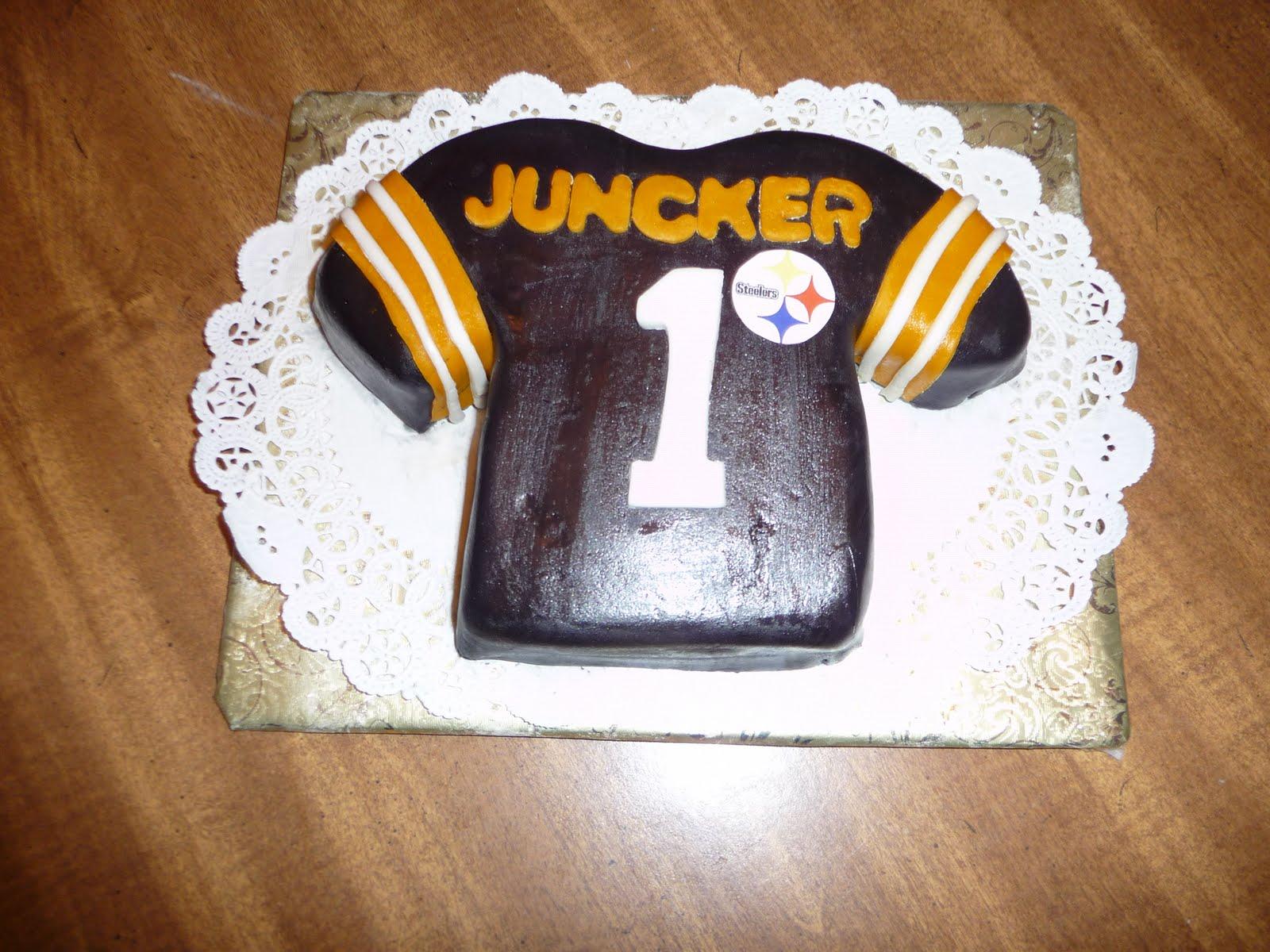 fair cake A Steelers Birthday Cake