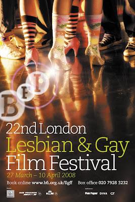 London Lesbian & Gay Film Festival 2008 poster
