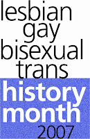 LGBT History Month 2007 logo