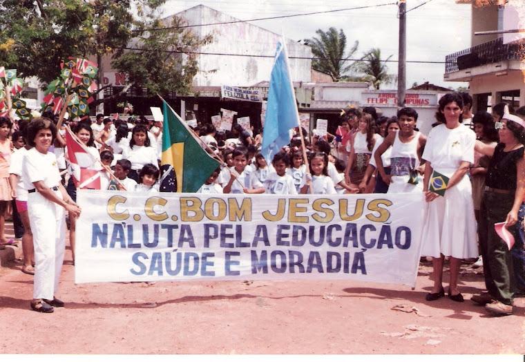 Desfile Escolar do CCBJ no Bairro da Terra Firme