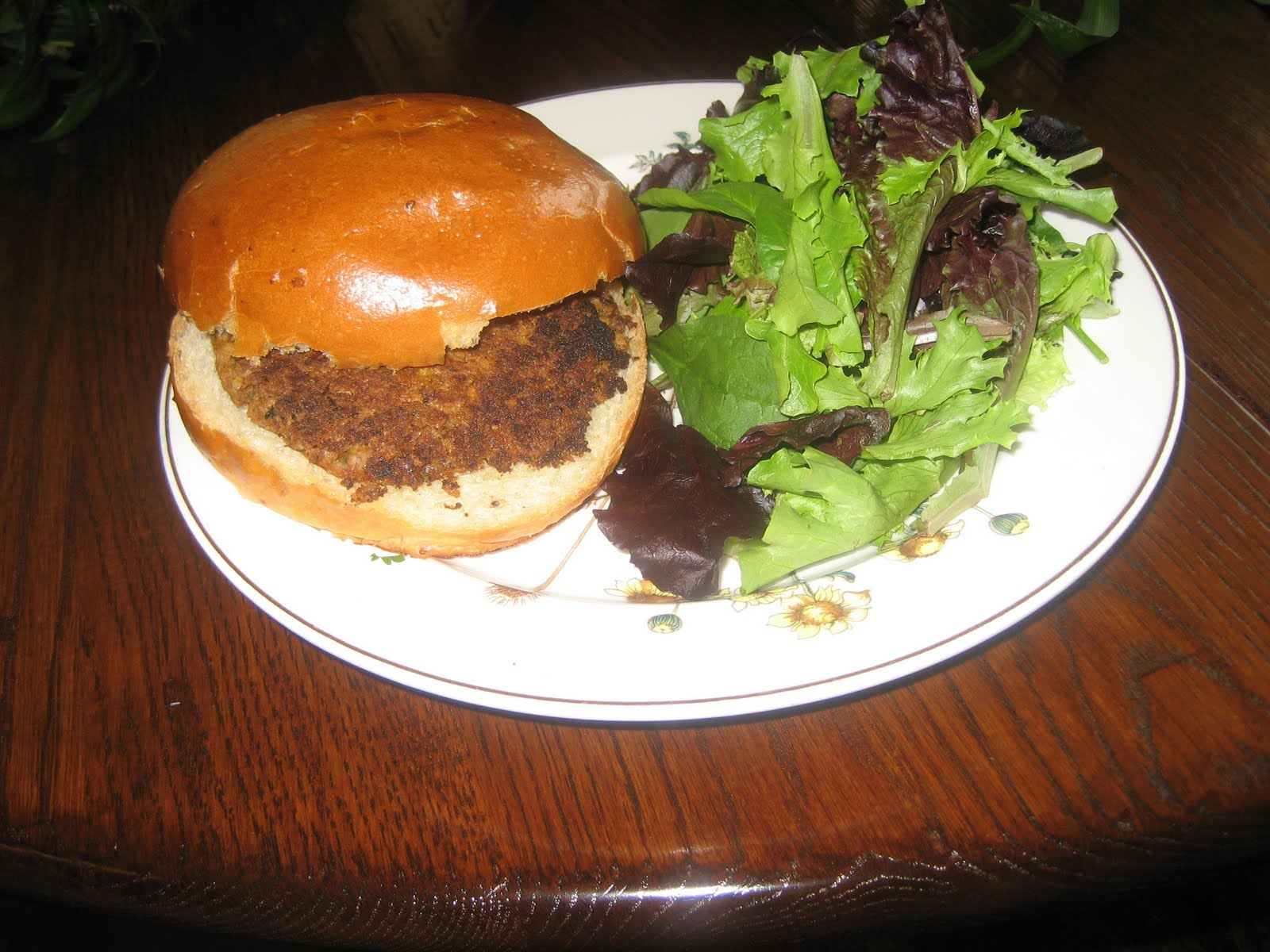 Vegan Burgers Part 1: Rockin' Black Eyed Peas