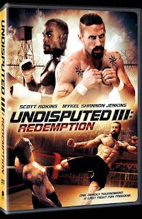 Quyết Đấu 3: Chuộc Tội undisputed iii dvd cover