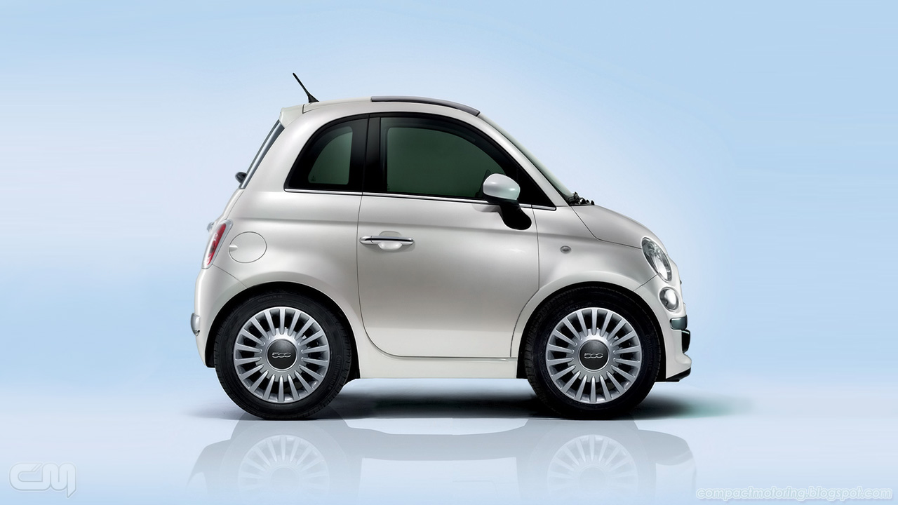 Compact Motoring: Chibi Car of the Week: Fiat 500