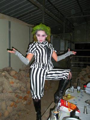 Ideas para un disfraz casero de Beetlejuice