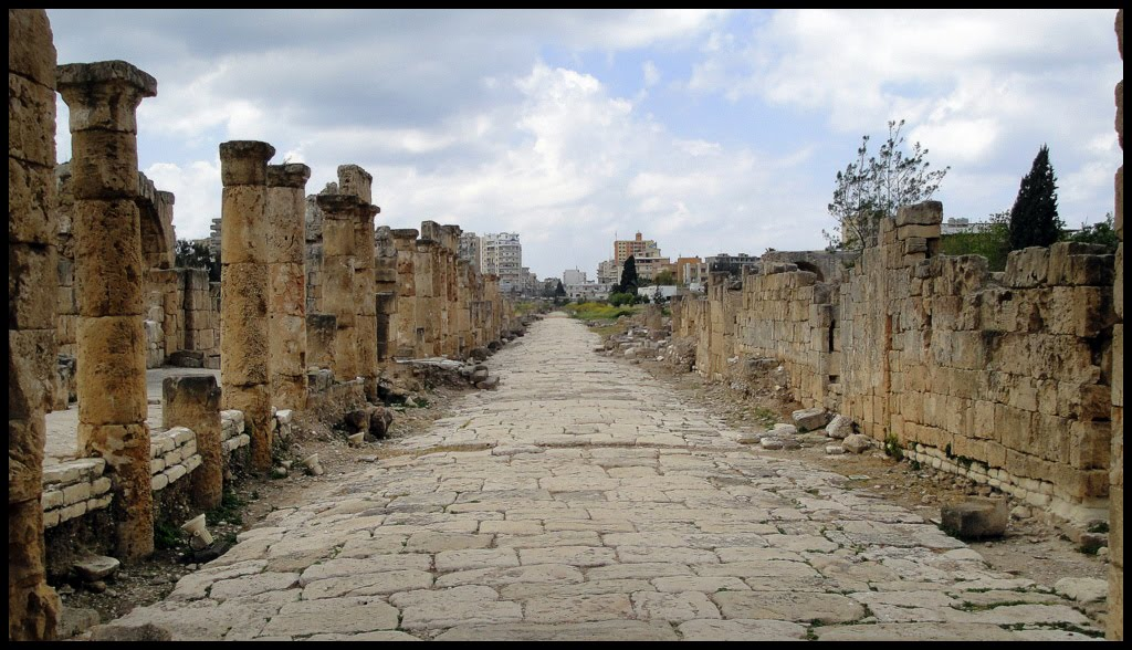 the roads of rome