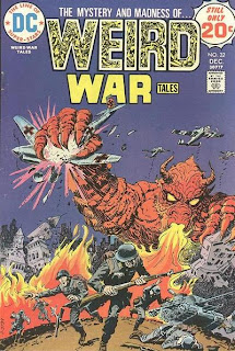 Oh no!  They say he's got to go!  WEIRD WAR TALES #32