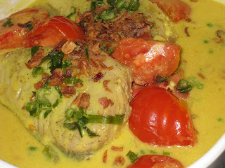 Fish in Coconut Milk Sauce