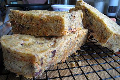 Microwave Carrot cake