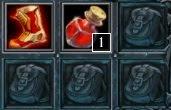 glacius hon starting items
